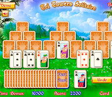 Tri Towers Solitario